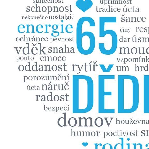 přání k narozeninám pro dědu Dárek pro dědu   obrázek s milým textem k narozeninám | Lepilova.cz přání k narozeninám pro dědu